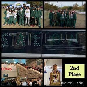cross country team collage