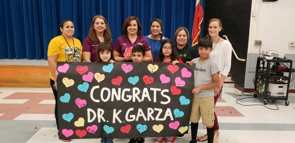 Congrats Dr. G