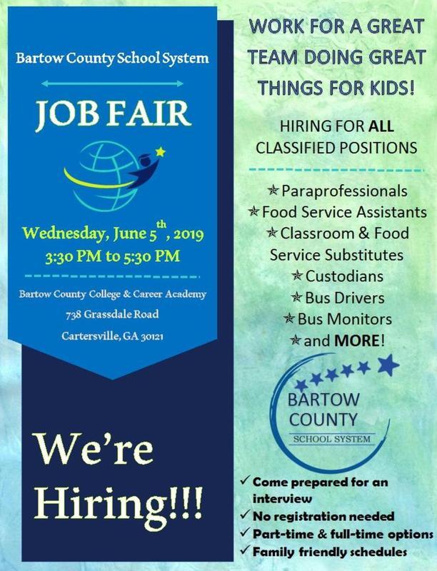 Classified Job Fair