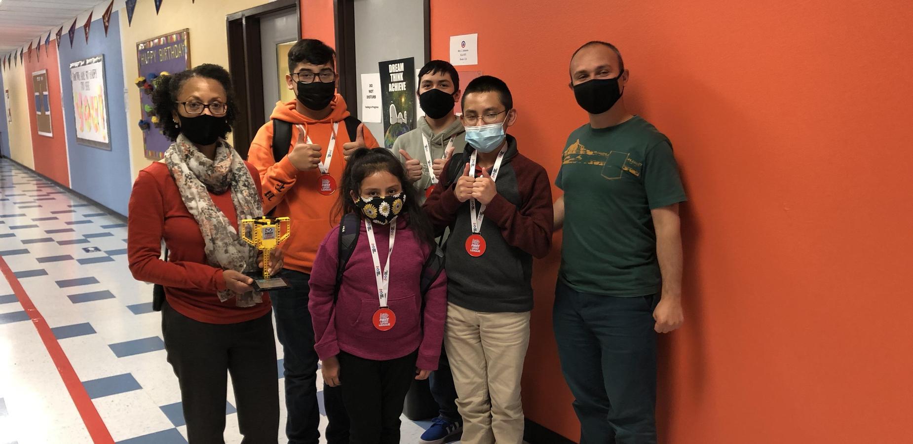 First Lego League Virtual Endurance Award