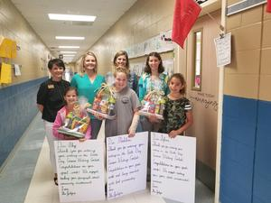 Cursive Writing Contest Winners