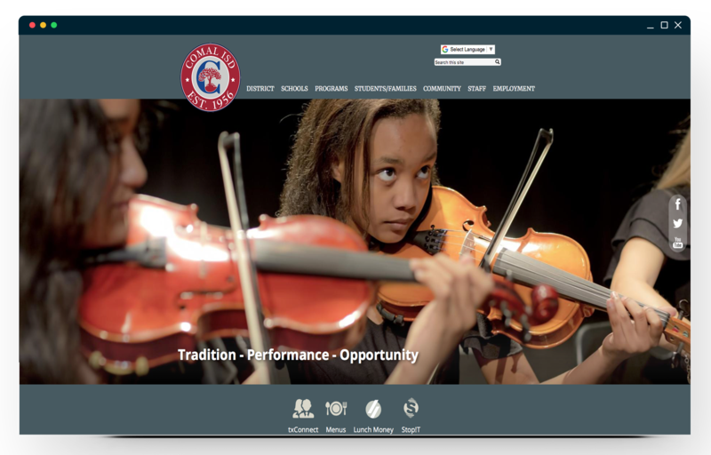 School Website Design of the Week: 11/29/2018 Featured Photo