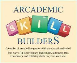 Logo for Arcademics Skill Builders website