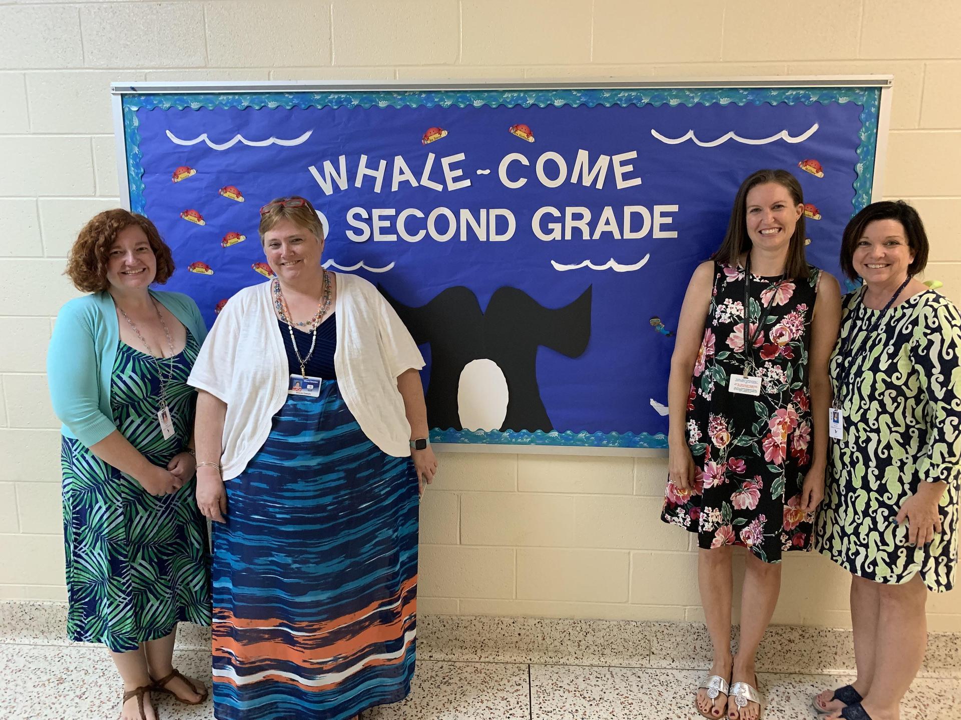 Second grade staff