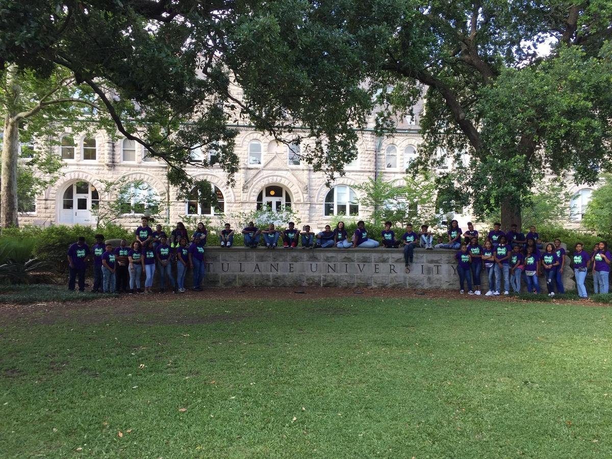 6-8th Students touring Dillard University, Tulane University, Southern University – New Orleans and Xavier University of Louisiana