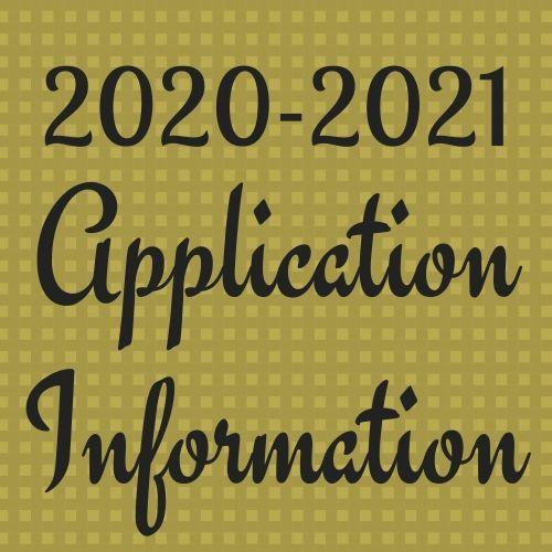 Applications for 2020-2021 Thumbnail Image