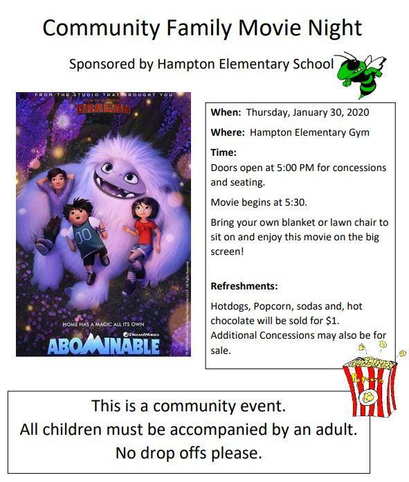 Community Family Movie Night