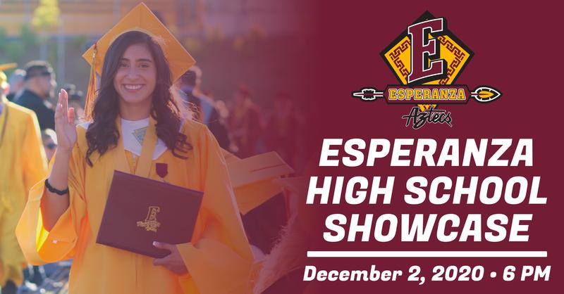 Save The Date: Esperanza High School Virtual Showcase December 2nd @ 6pm Thumbnail Image