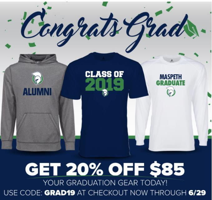 Buy Maspeth High School Gear Today! Featured Photo