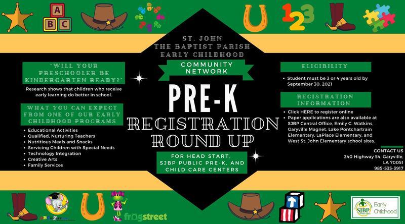 Now Registering for PreK Thumbnail Image