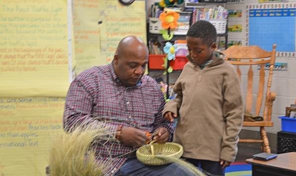 Sweet Grass basket makers visit