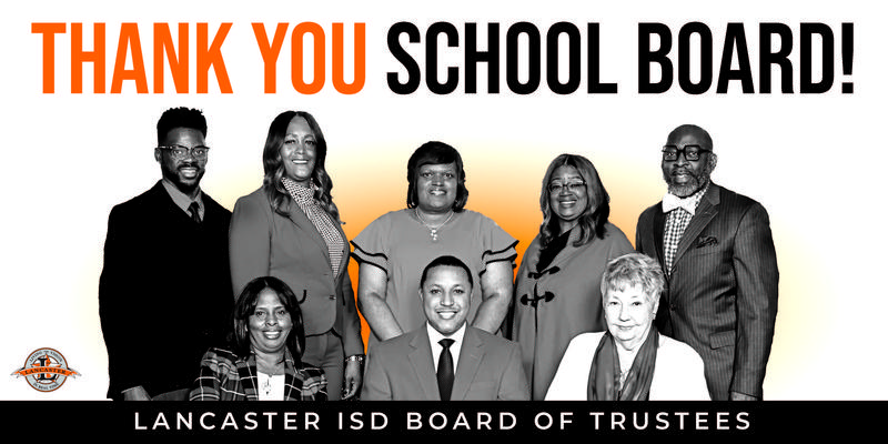 School Board Recognition Month - Lancaster ISD Celebrates Its Champions of Public Schools Thumbnail Image