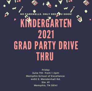 Kinder Graduation 2021