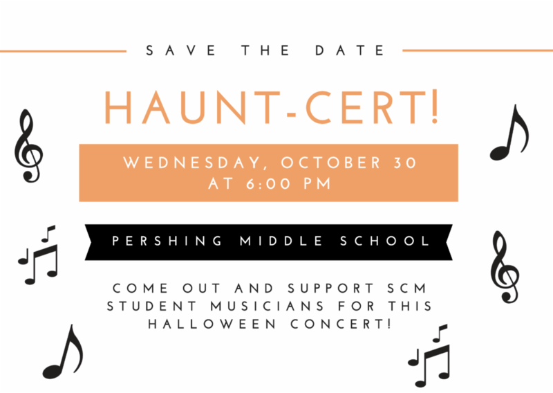 SCM Musicians perform at Haunt-cert! Wednesday, October 30 Featured Photo