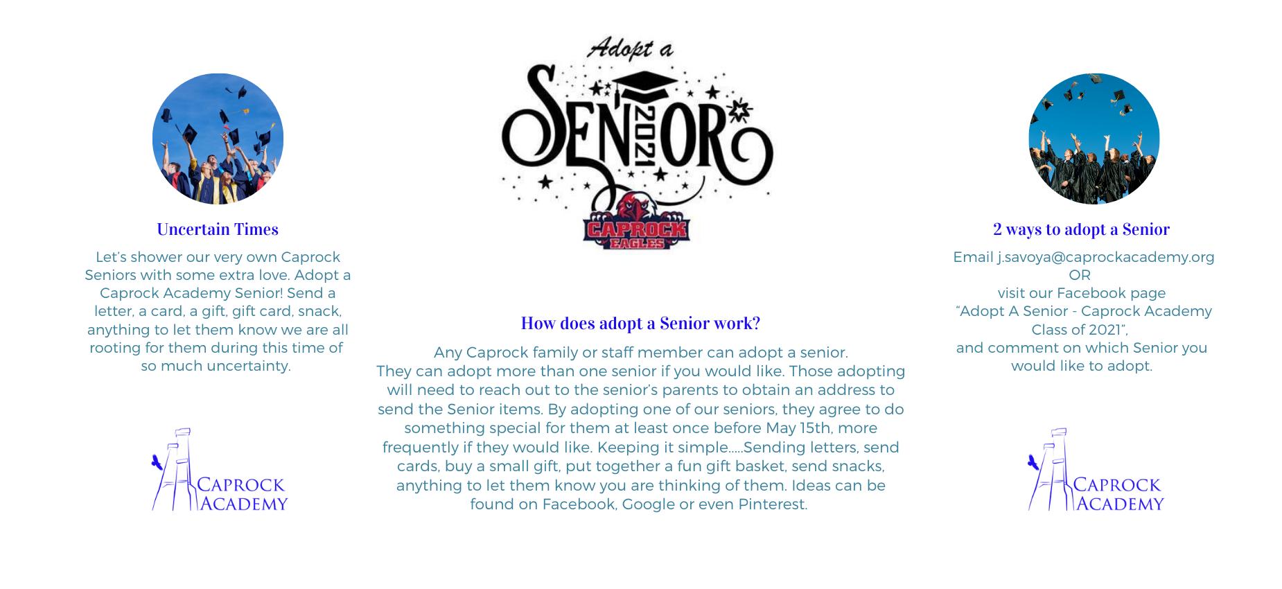 Adopt a Caprock Senior