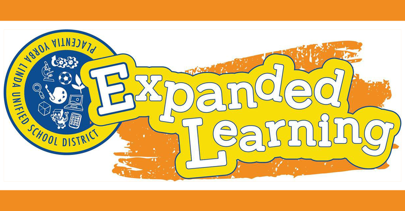 Expanded Learning graphic for PYLUSD.