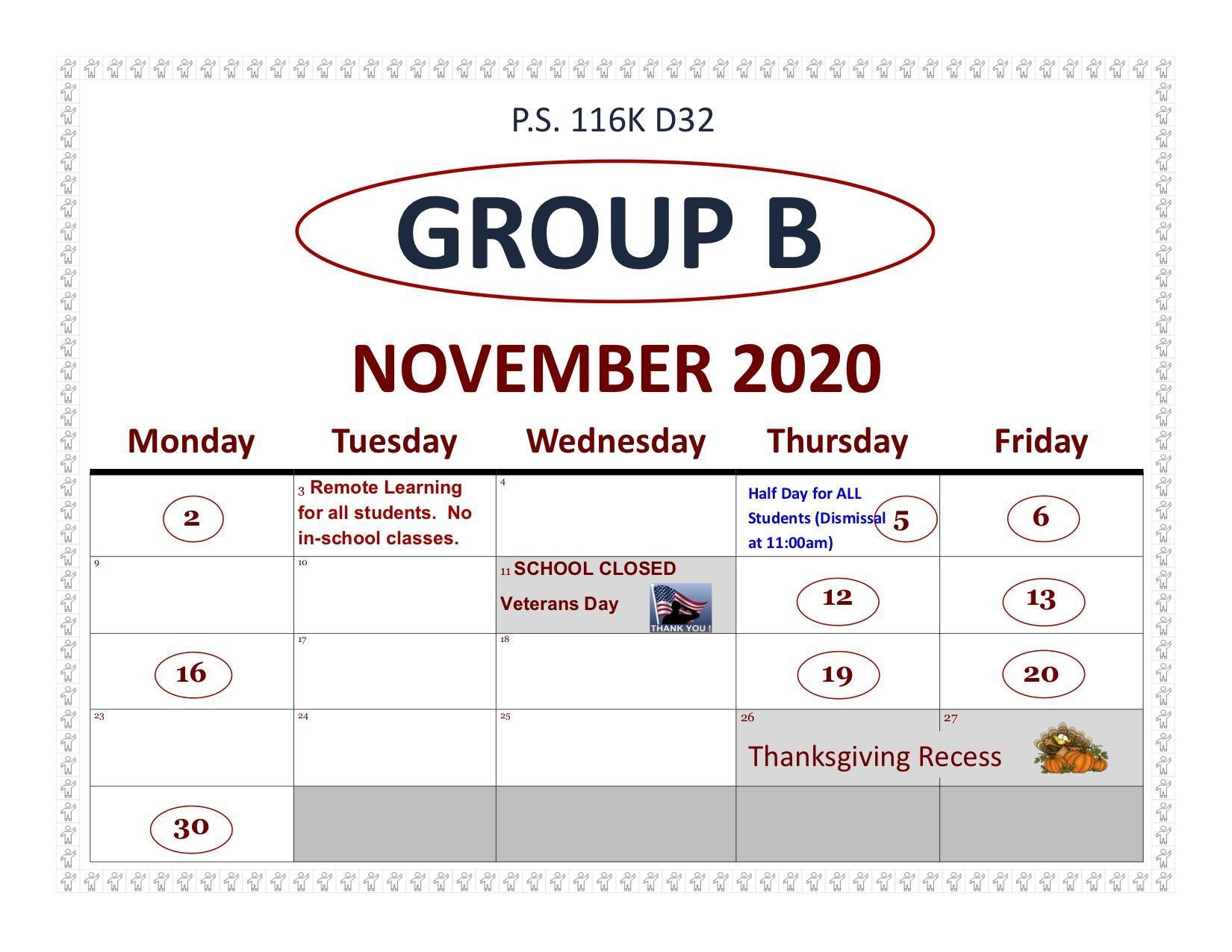 Group B November