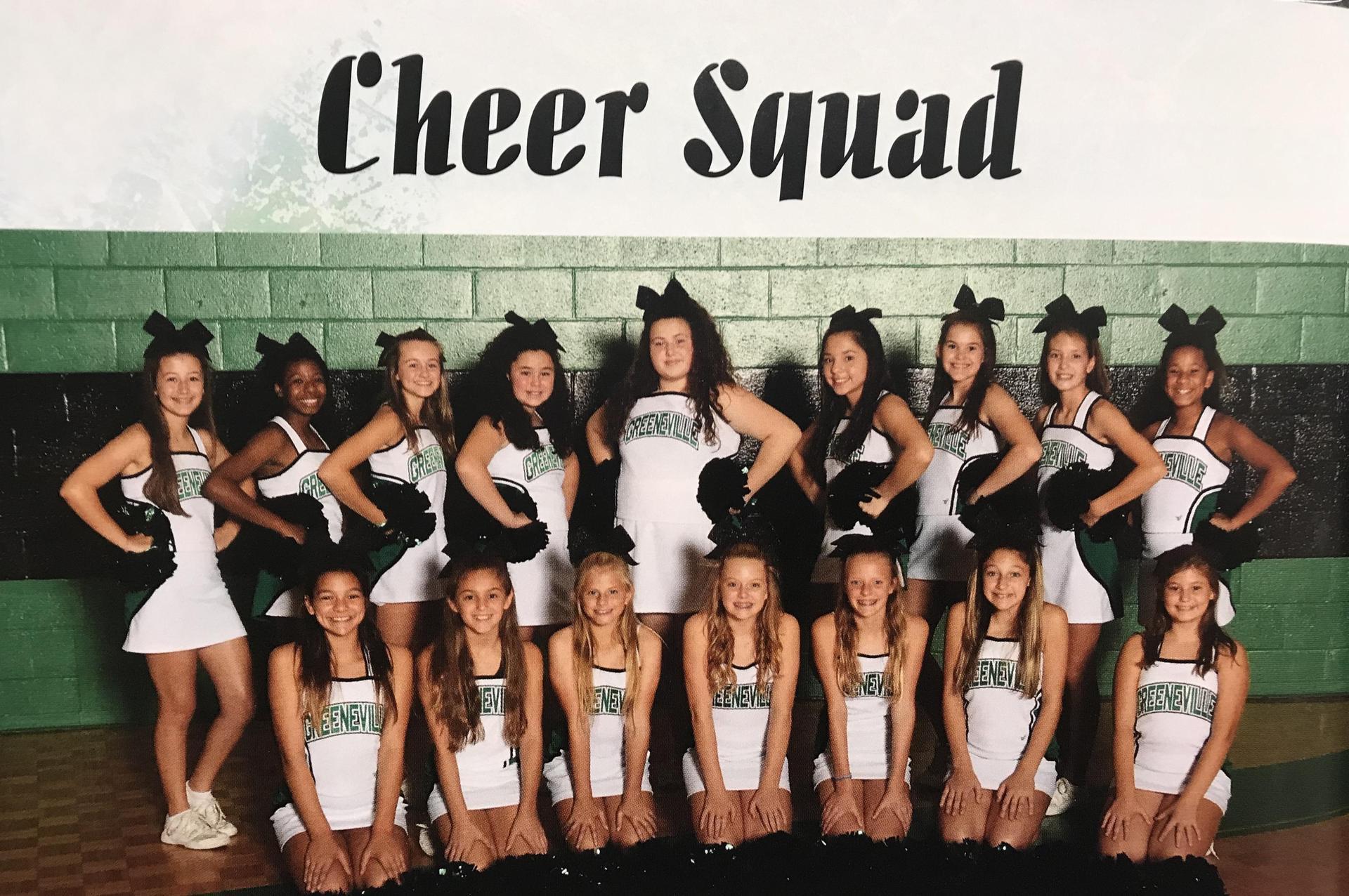 2018-2019 GMS Cheer