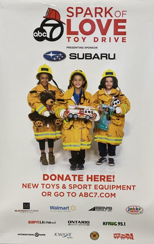 Spark Of Love Toy Drive Featured Photo