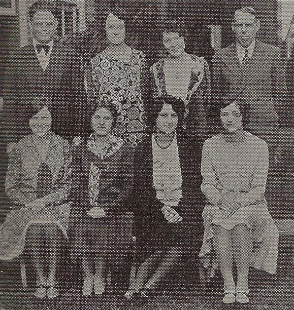 Mr. Sawyer in a faculty photo, 1928