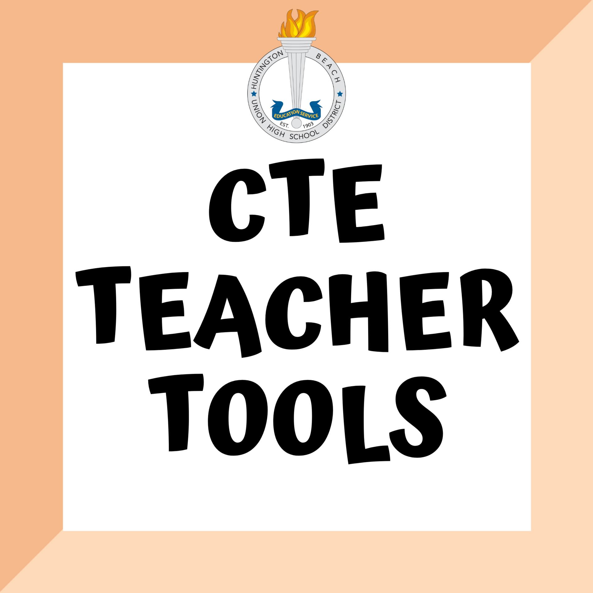 cte teacher tools