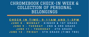 Chromebook Check In Dates