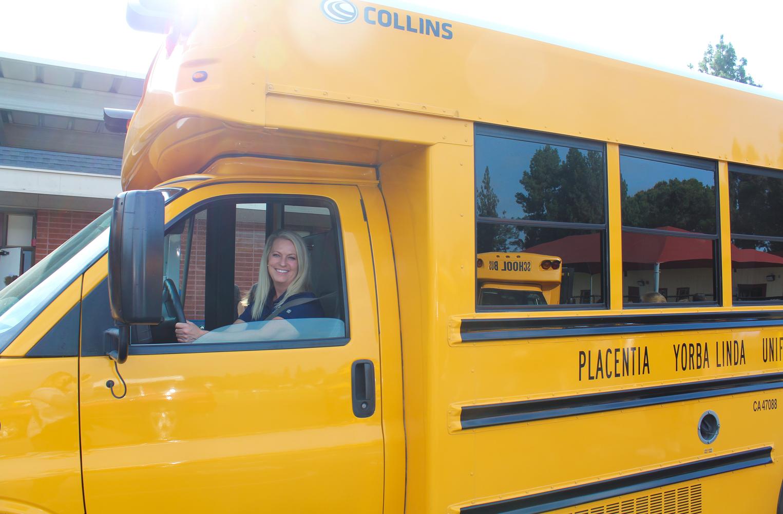 A bus driver for PYLUSD.