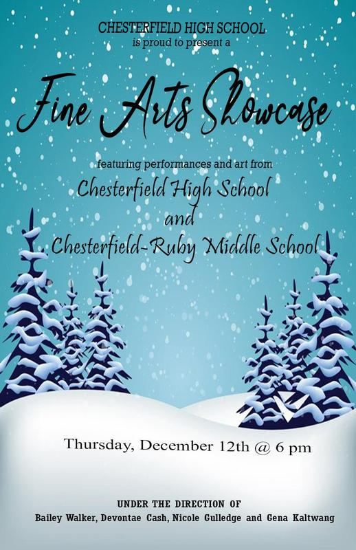 2019 Fine Arts Holiday Showcase Featured Photo