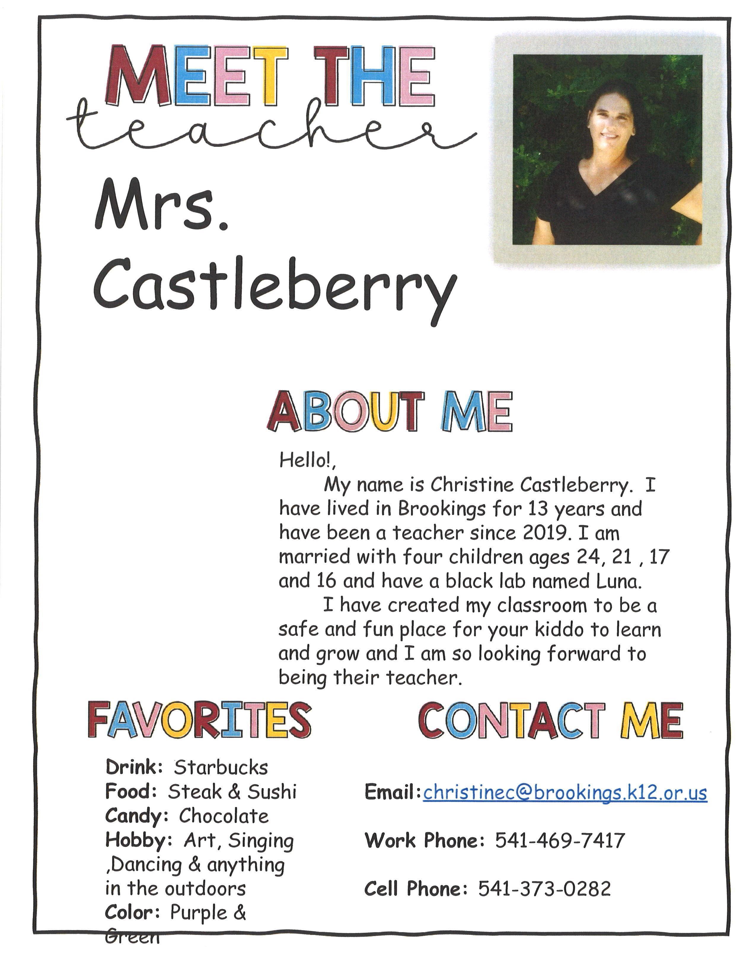 Castleberry (K)
