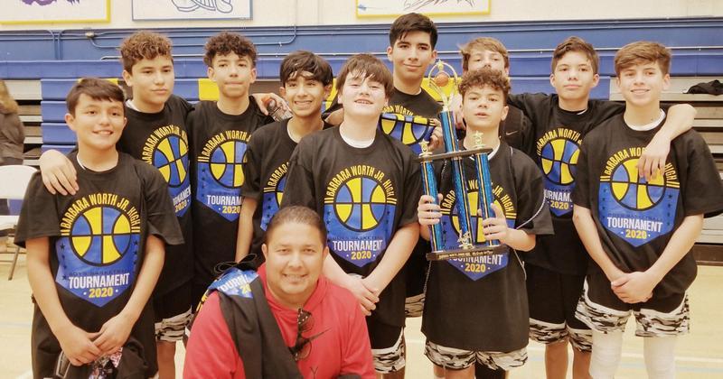 Congrats to McCabe's 8th Grade Boys Basketball Team! Thumbnail Image