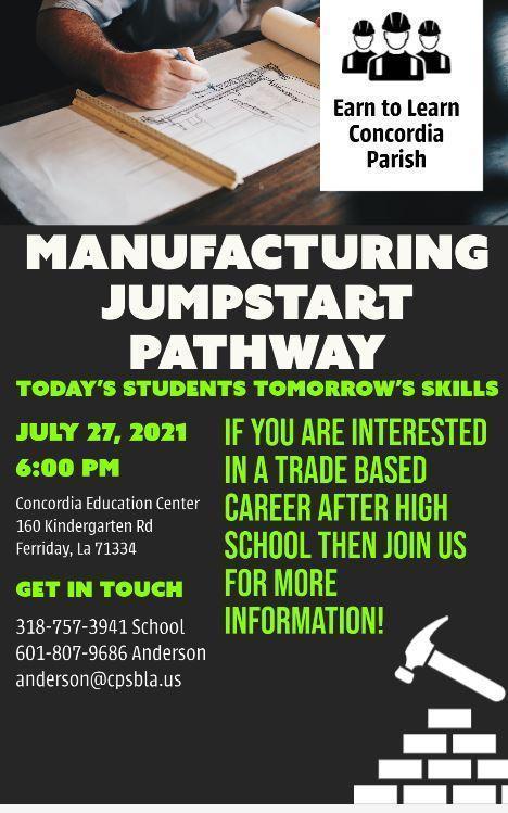 Manufacturing Jumpstart Pathway Open House Featured Photo