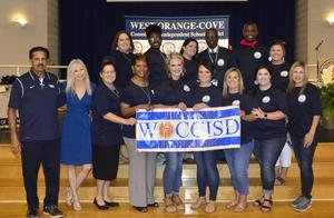 WOCCISD Education Foundation presents grants to teachers