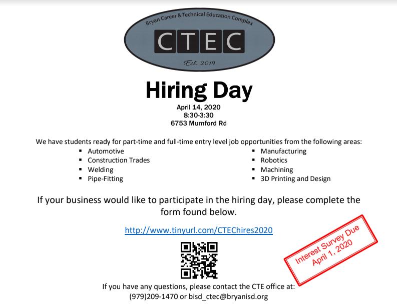 CTE Job Day