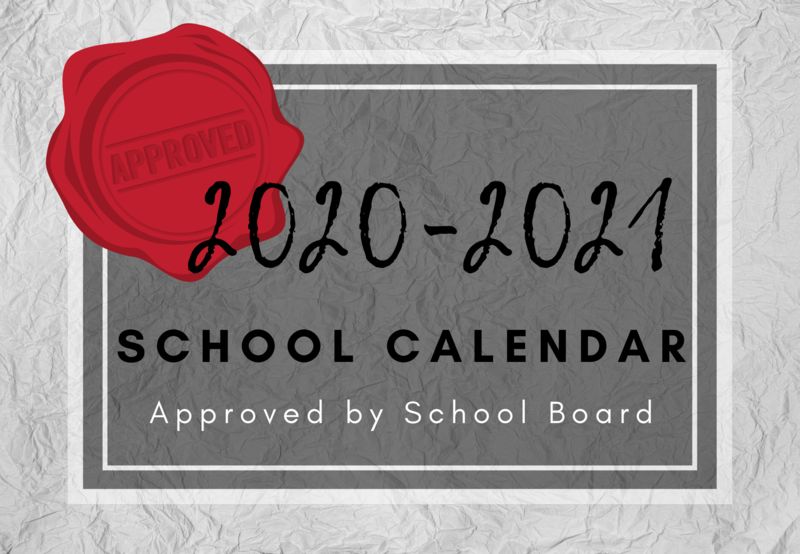 2020-21 Calendar Approved by Board Thumbnail Image