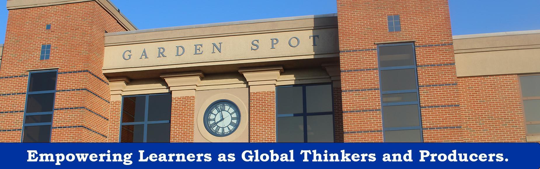 Garden Spot High School Banner Image