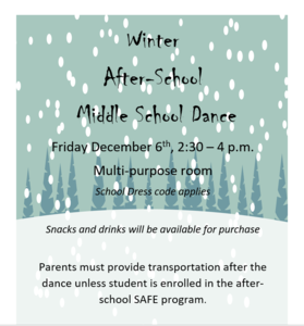 Winter Dance Flyer