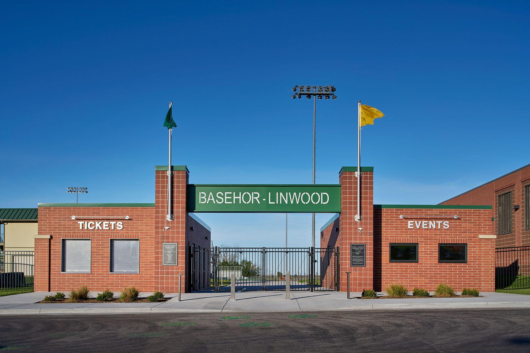 BL Football Field Entrance