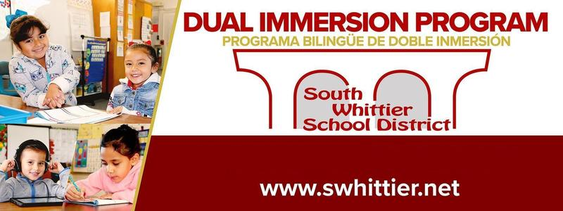 Dual Immersion for registration information please go to district website Featured Photo