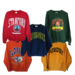 College sweatshirts