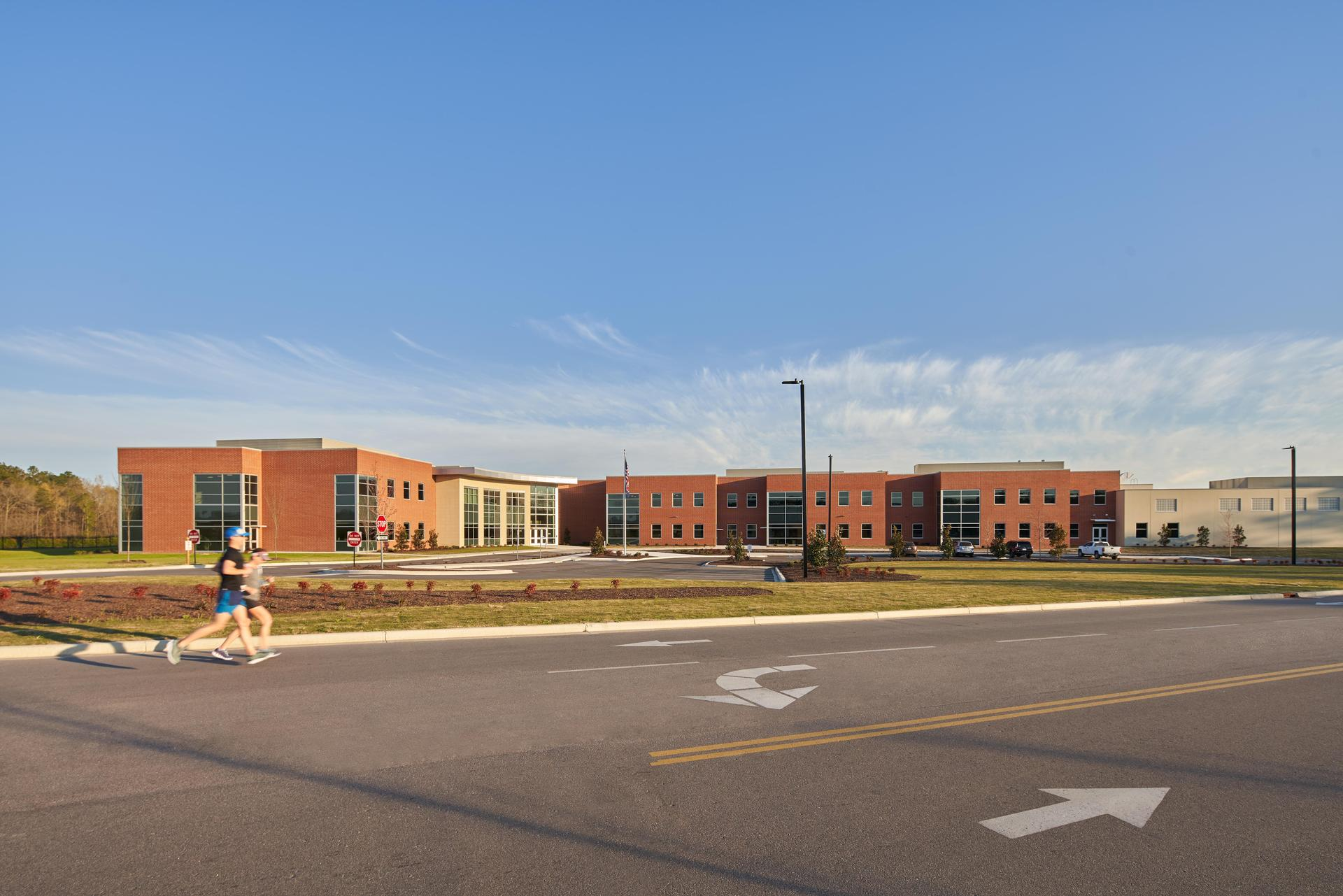 Outside view of the Lexington 2 Innovation Center
