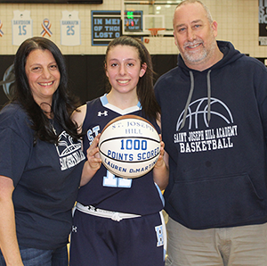 DiMartino Scores 1,000 Points Featured Photo