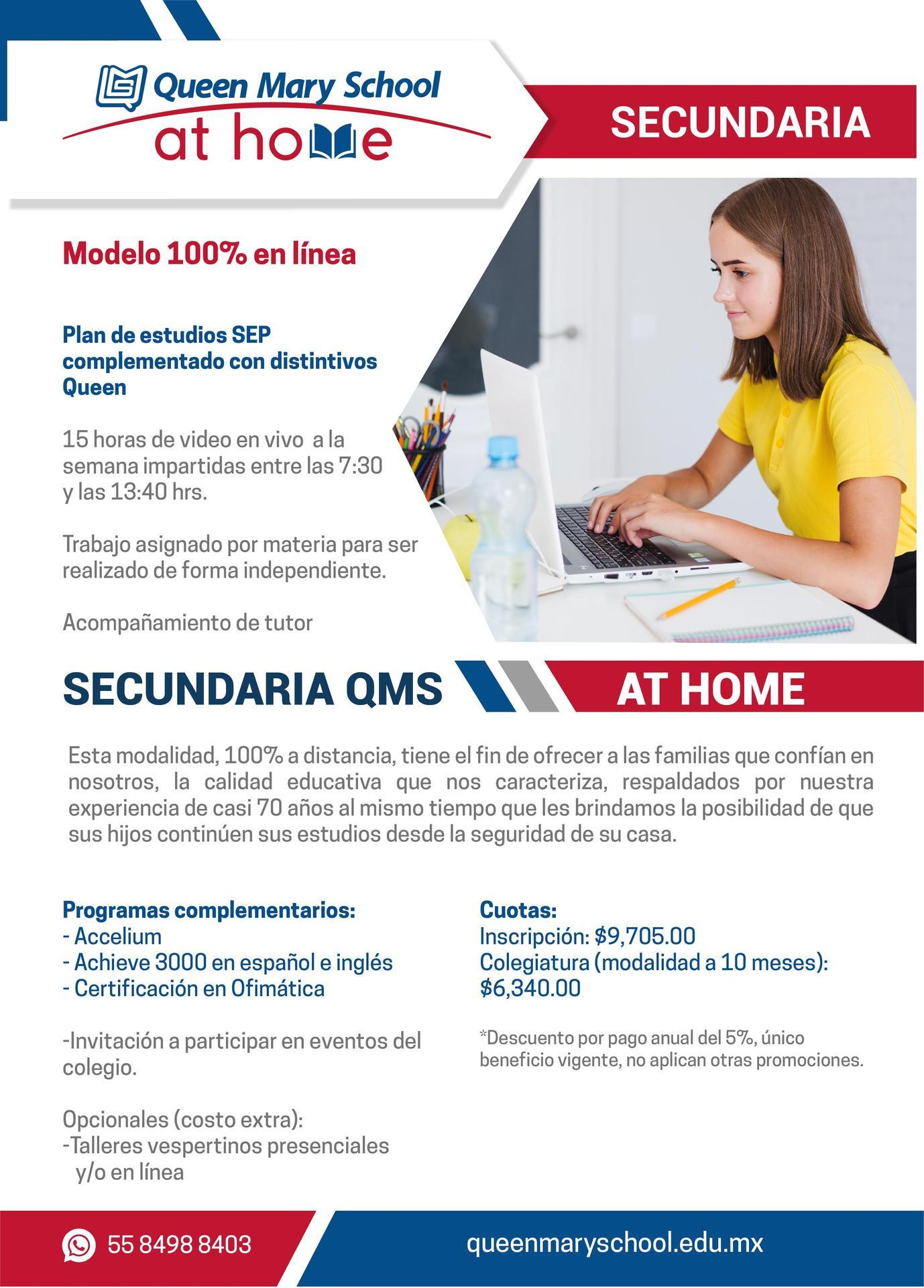 Secundaria at home