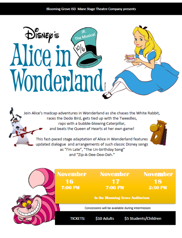 Alice in Wonderland Jr., The Musical Thumbnail Image