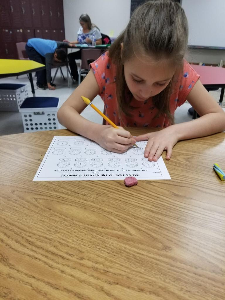 working on elapsed time with clocks