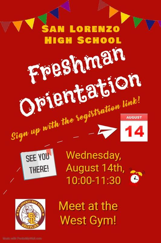 Freshman Orientation:::Click here to sign up! Featured Photo