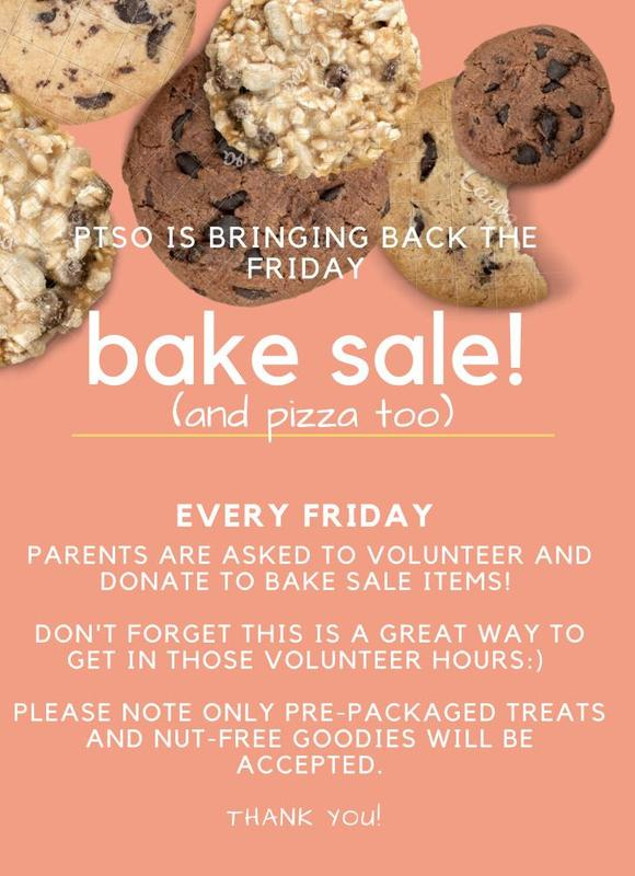Pizza and Bake Sale Featured Photo