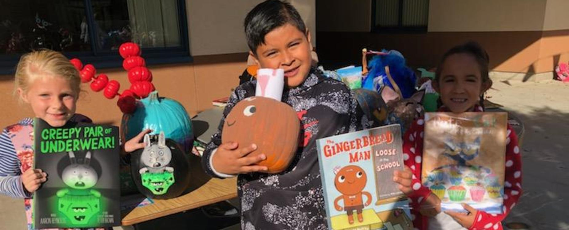 TK-3rd grade Pumpkin book reports
