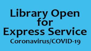 Library is opening Curbside