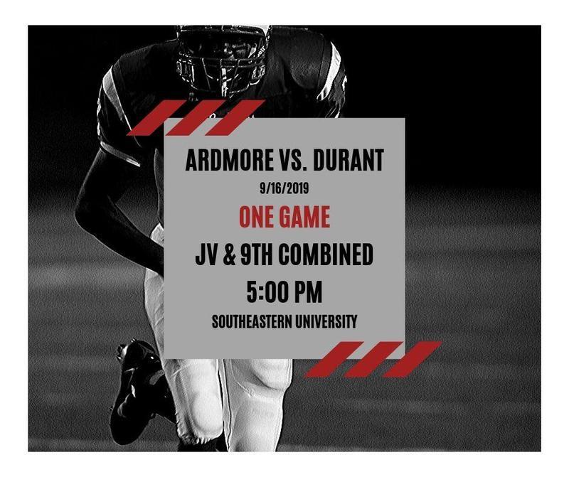 Ardmore Vs. Durant Featured Photo