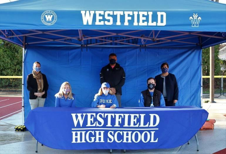 Senior Katie Hamilton National Letter of Intent Signing Day Fall 2020 XC/Track & Field
